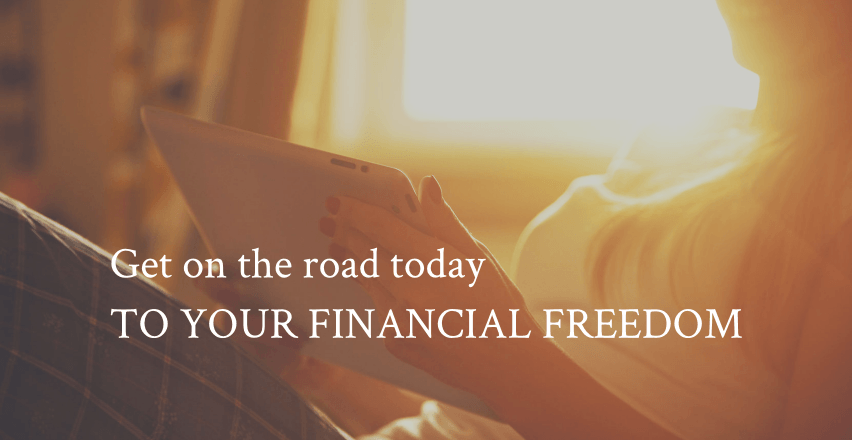 Get on the road to your personal financial freedom
